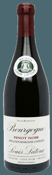 Bourgogne Pinot Noir-The mouth is elegant and fruity with aromas of blackcurrant and cherry. Food Pairing Grilled meat - mature cheeses