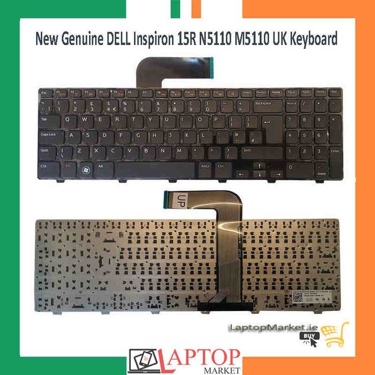 New Black Keyboard UK Layout For Dell Inspiron 15R N5110 M5110 Series