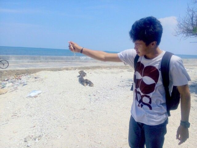 Blinding sand #indonesia