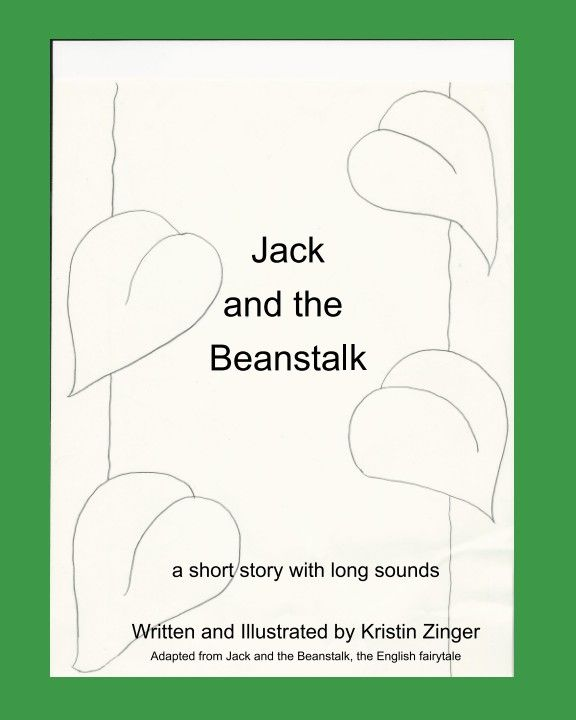 An adaptation of Jack and the Beanstalk with a speech sound focus on long sounds  /f/ /s/ /v/. Activities included for copying in the back of the book.