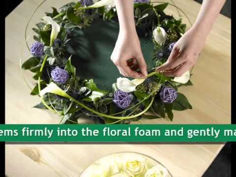 OASIS® Floral Products ~ How To ~ Diamonds Are A Girls Best Friend - YouTube