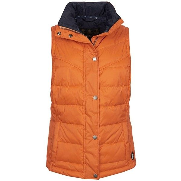 Barbour Orange Gilet