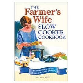 "At the turn of the century, The Farmer's Wife was the go-to source for country cooking. Updated for contemporary kitchens, this essential cookbook offers an array of easy-to-make slow cooker recipes-from savory pot roasts and casseroles to delicious soups and chilis.  Product: CookbookConstruction Material: PaperFeatures:  208 PagesSpiral bound Dimensions: 9"" H x 6"" W"