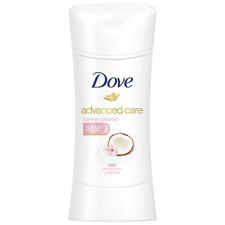Dove Advanced Care Anti-Perspirant Deodorant Caring Coconut - 2.6 oz.