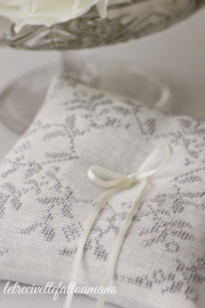 letrecivette ring pillow cuscino fedi