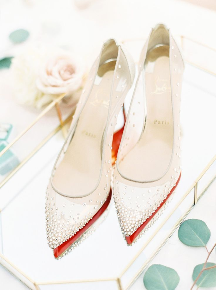 Red Bottom Wedding Shoes With Images Satin Wedding Shoes Best Bridal Shoes Wedding Shoes