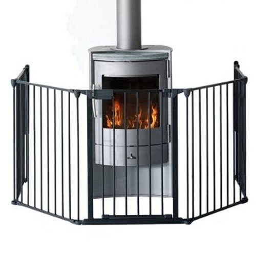 Contemporary wood burning stoves · BabyDan Premium Hearth Gate Black by  Babydan, http://www.amazon. - 10 Best Images About Wood Burning Stove Ideas On Pinterest Wood