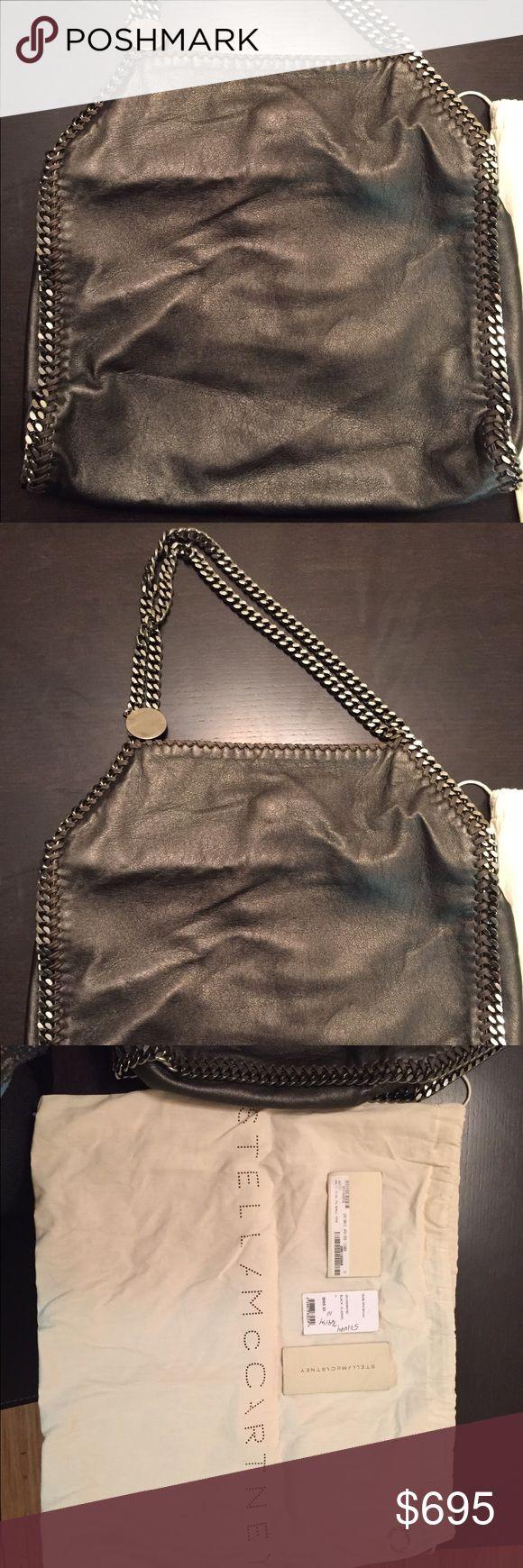 "Stella McCartney Falabella Shoulder Bag Great condition gun metal grey Shoulder Bag. 14"" tall and 14"" wide. Stella McCartney Bags Shoulder Bags"