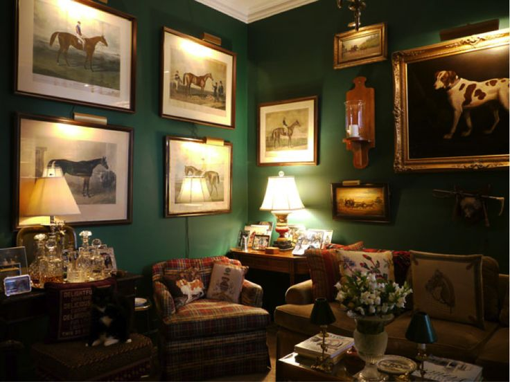 English Country House Style Interior English Decor Green Rooms Home Decor