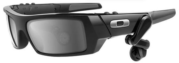 Cool Google augmented reality sunglasses.