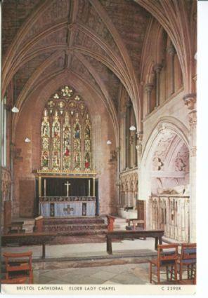 Judges Postcard, Bristol Cathedral, Elder Lady Chapel, C2390X