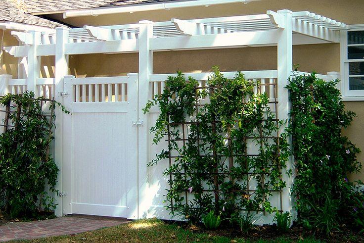 Fence Enclosures - Vinyl Solid Fencing - California, Los Angeles, Van Nuys, Burbank, Valencia