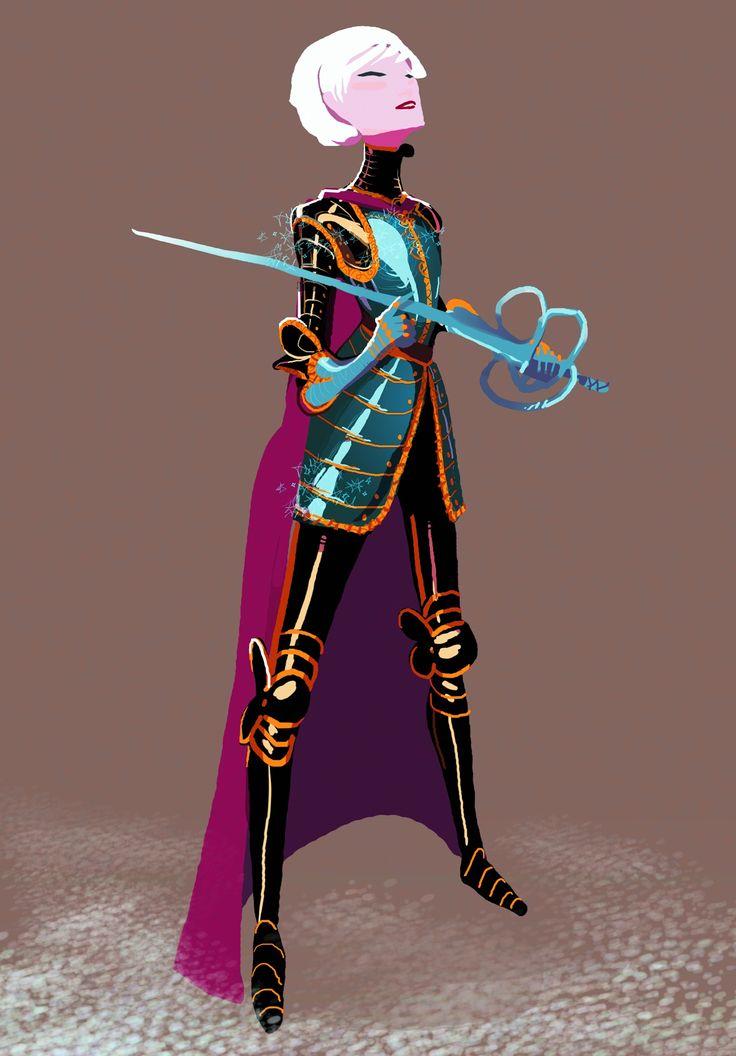 Armored Queen Elsa by Art-Calavera.deviantart.com on @deviantART