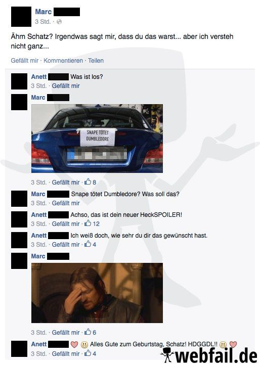 Auto Tuning mal anders - Facebook Win des Tages 08.09.2015