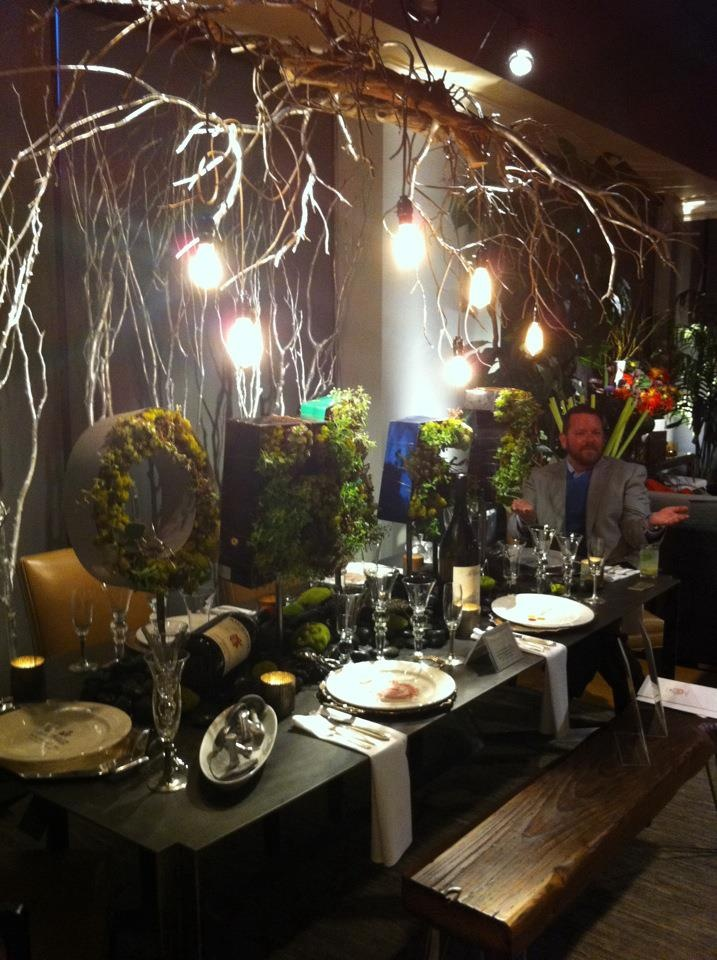 Nice Holiday Tablescape With A Twist
