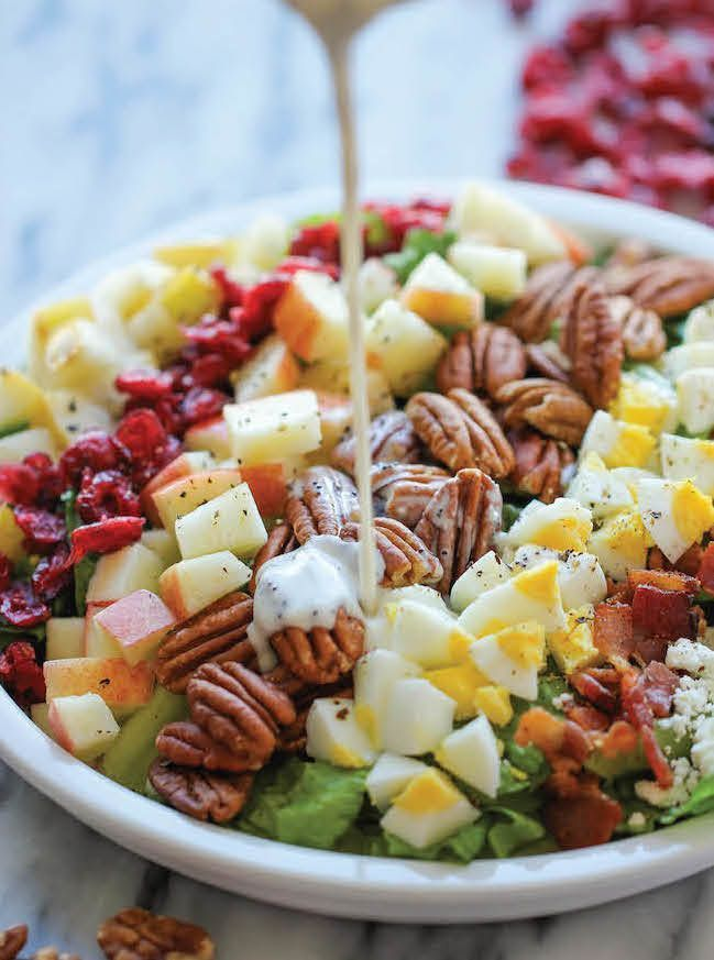 • 9 Healthy and Easy Fall Salad Recipes — Get psyched for delicious and healthy fresh fall salads •