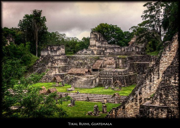 Zip across the treetops of the jungle of Tikal