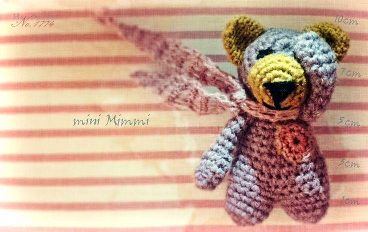 Teddy - Bär - Kuscheltier - Photoprops - crochet - gehäkelt - Häkelfigut - crochet stuffed animal - Baby - Kind - Handmade