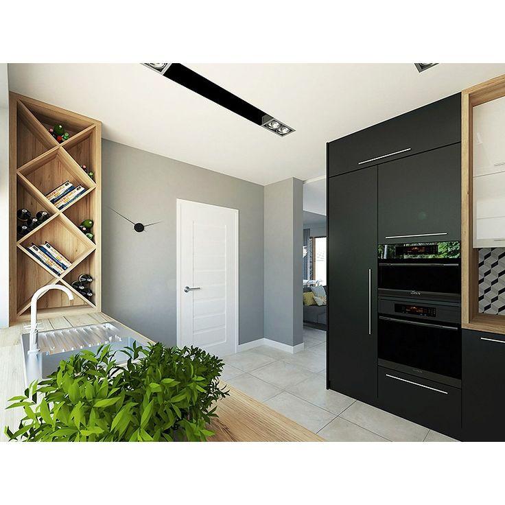 Jednorodzinny budynek mieszkalny, niepodpiwniczony. Wielkim atutem projektu są cztery sypialnie, co umożliwia wygodne funkcjonowanie 5-osobowej rodziny. W części dziennej zaprojektowano kuchnię ze spiżarnią oraz salon z jadalnią, z którego prowadzi wyjście na zadaszony taras. Część nocną stanowią cztery sypialnie, w tym jedna z własną łazienką i garderobą. W części gospodarczej przewidziano przestronną kotłownię oraz dwustanowiskowy garaż.