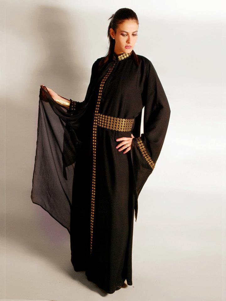 stylish black abaya (7)