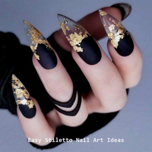 30 große Stiletto Nail Art Design-Ideen #naildesigns #nailart – Nails