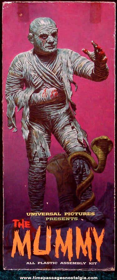 "Aurora - ""The Mummy"" Plastic Model Kit."