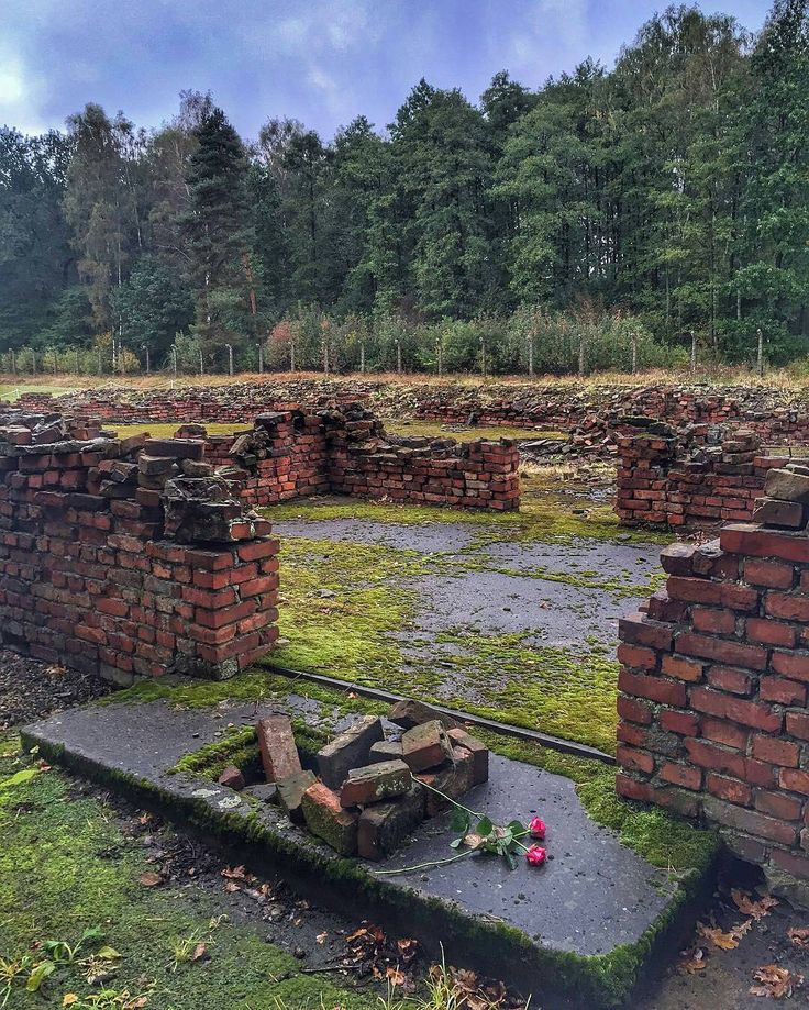 Where Was The Auschwitz Camp Located: Photo By @endritdemi --- Auschwitz II-Birkenau. Entrance