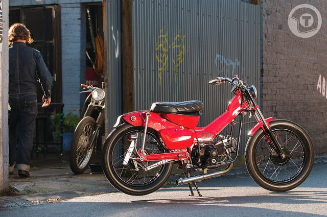 Honda CT110 by Post Modern Motorcycles
