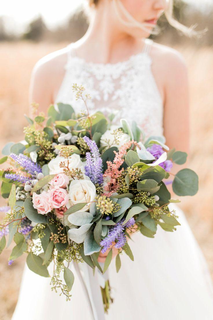 Lavender and Pink Modern Romantic Wedding Ideas