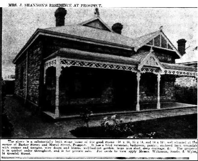 The Mail (Adelaide, SA : 1912 - 1954), Saturday 9 November 1918, page 8, Corner of Barker and Muriel Street, Prospect