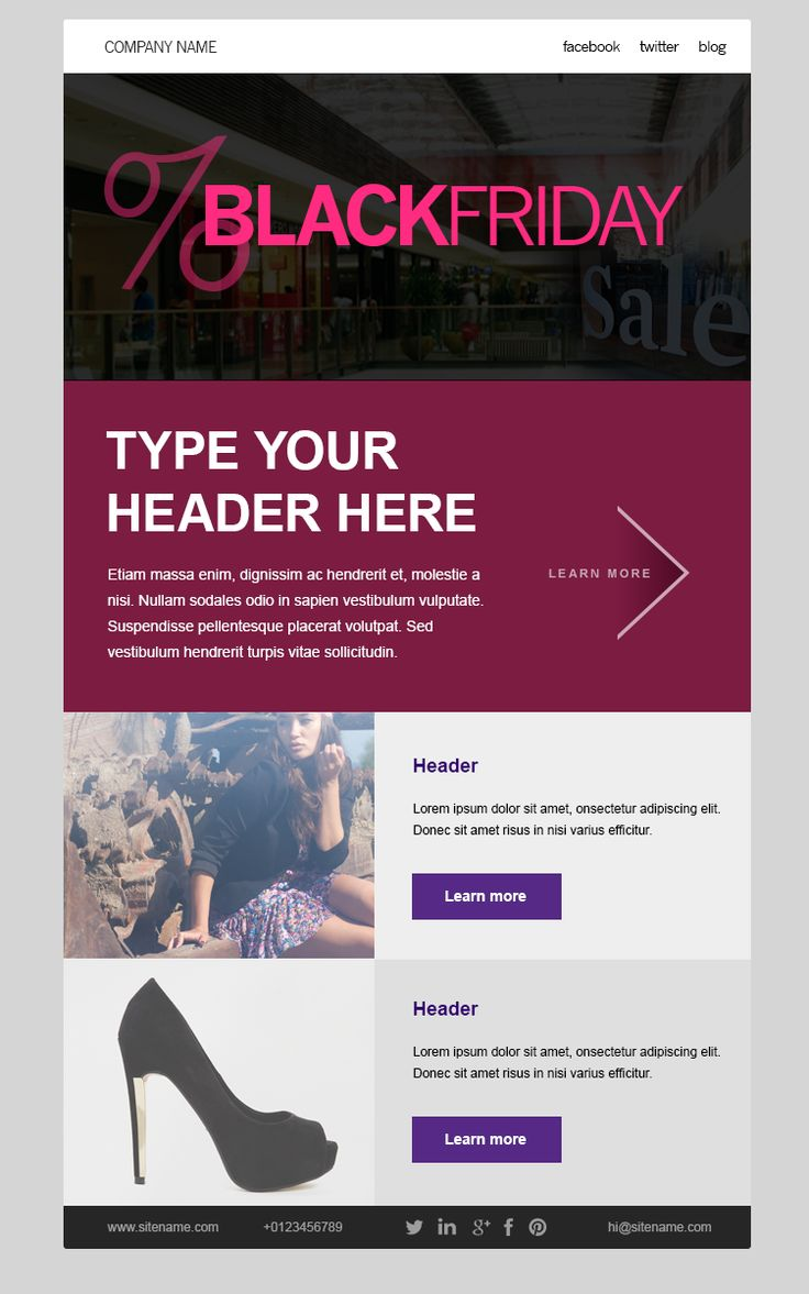 17 best images about black friday and cyber monday email samples on pinterest messages. Black Bedroom Furniture Sets. Home Design Ideas