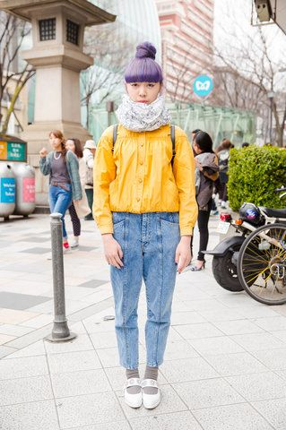 Vogue: The Best Street Style from Tokyo Fashion Week