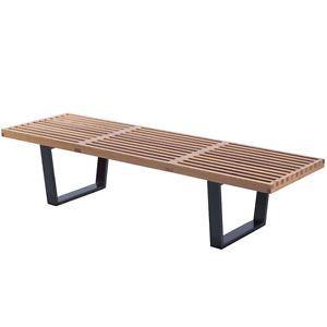 NEW Milan Direct George Nelson Replica Platform Bench   eBay