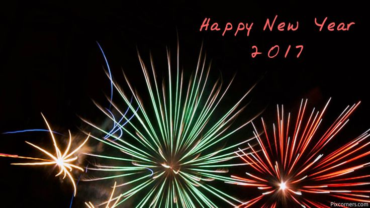 Happy New Year Red Hd Wallpaper For Laptop And Tablet Free