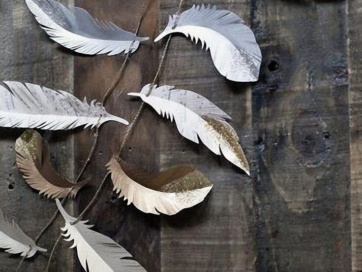 Tutoriel DIY: Fabriquer des plumes en papier originales via DaWanda.com
