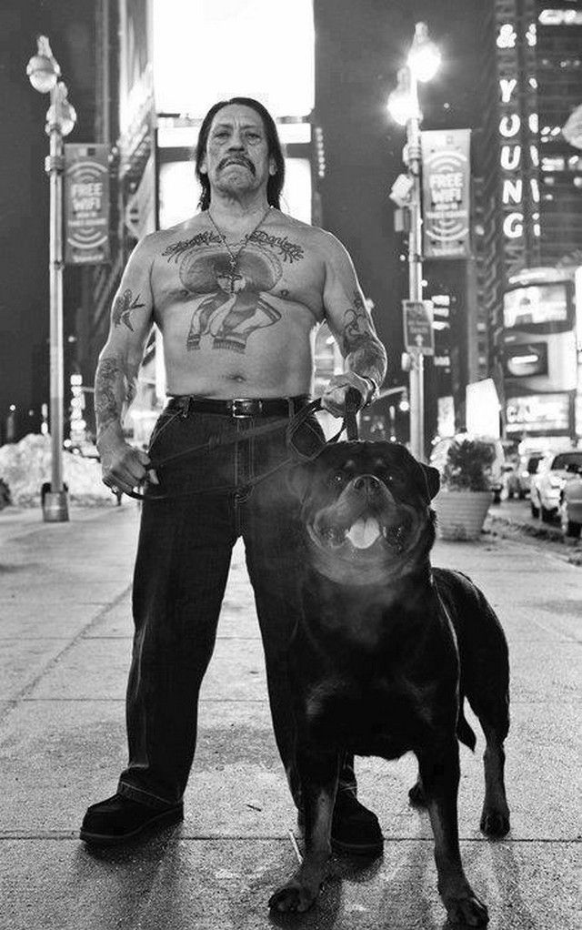 Danny Trejo- I don't find this man attractive, just badass!