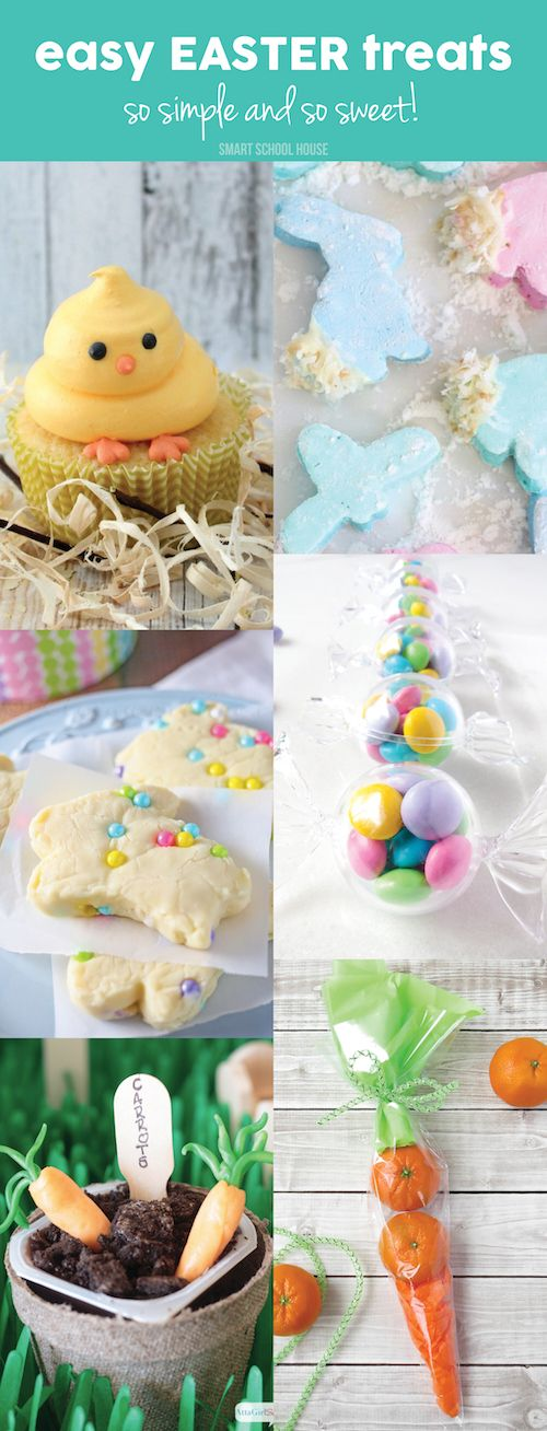 Easy Easter Treats. Recipes for Easter and quick Easter ideas