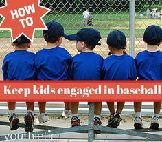 We all know it can be hard to keep kids focused in baseball. Here's tips and advice to keep it fun and exciting: https://www.youthletic.com/articles/youth-baseball-coaches-how-to-keep-your-players-engaged-in-practice/?utm_source=pinterest&utm_medium=referral&utm_campaign=organic
