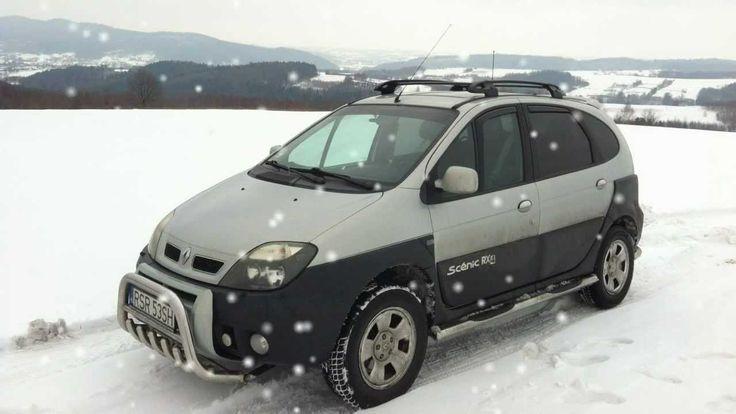 Scenic RX4: SNOW DRIFT / wiejski drift 2013 PART II