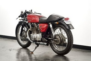 Honda CL350 - as seen in The Girl With The Dragon Tattoo