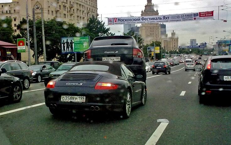 Acidente de carro na Rússia.
