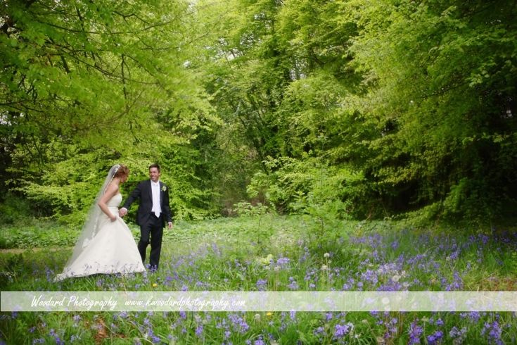 Stroll in the forest amid the Lilac at Irish Castle Wedding, Adare Manor hotel