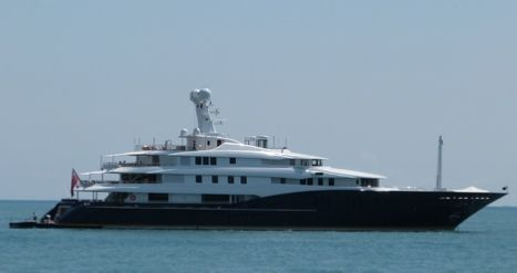 Ronald Perelman yacht