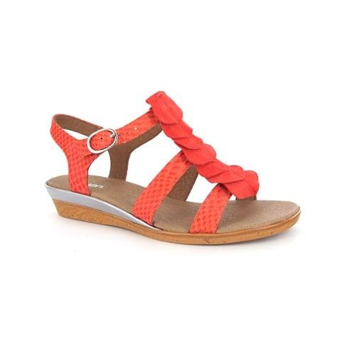 Zensu Joelle in Tangerine Snake #summer #brights #colour #zensu