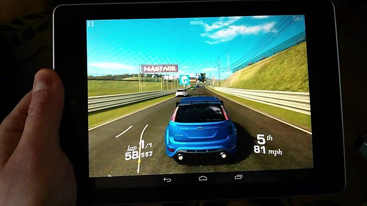 Real Racing 3 on the Acer Iconia A1 (+playlist)