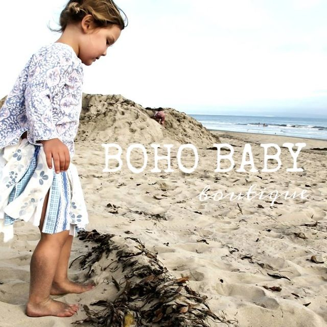 Recent photoshoot of a Boho Baby scrap skirt