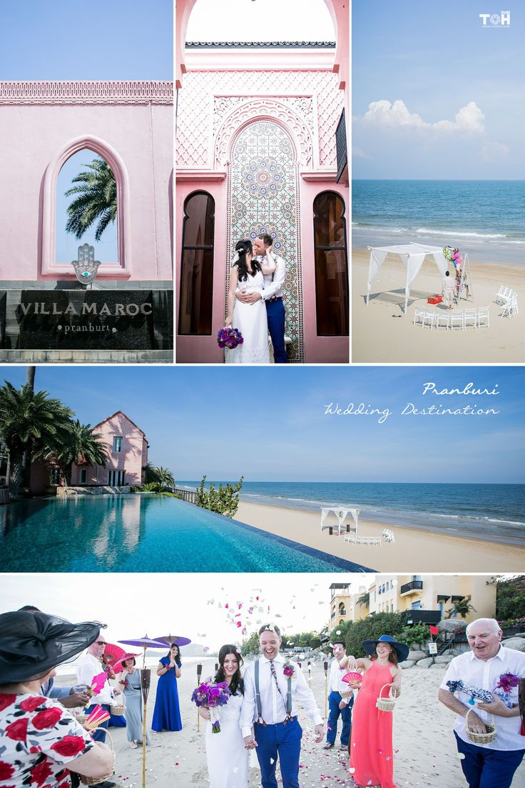 Pranburi, Thailand; most peaceful and beautiful beach for the wedding