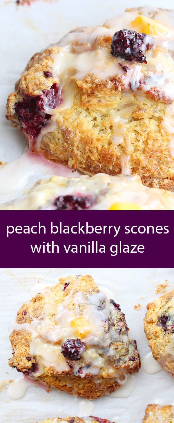 Sweet peaches and tangy blackberries pair beautifully in these buttery and…