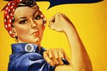 Rosie the Riveter.....women's contribution to our country!