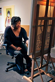 At Home With the Artist Beverly McIver - NYTimes.com